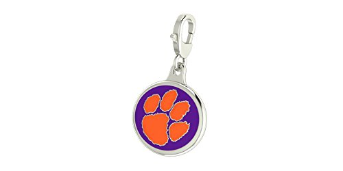 Clemson University Tigers Lobster Charm