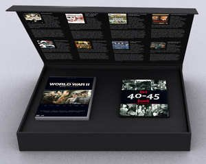 The Ultimate World War II Collection (8 Films) - 10-DVD Box Set ( Escape from Sobibor / Operation Valkyrie (Stauffenberg) / The Diary of Anne Frank [ NON-USA FORMAT, PAL, Reg.2 Import - Netherlands ] by Just