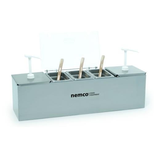 Nemco (88100-CB-3) Condiment Bar w/ 2 Pumps
