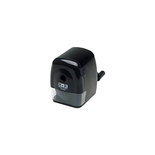M nero R 09810090/manovella di temperamatite gomma plastica
