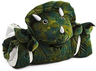 Frolics Plush Sleeping Bag Assorted Animals (Dinosaur Green)