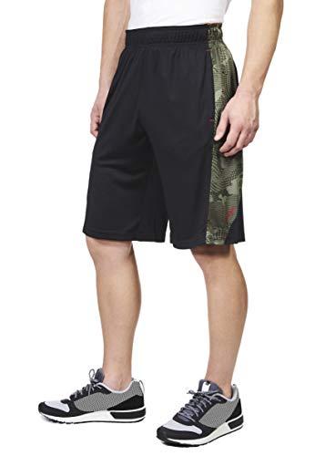 Spalding Mens Performance Camo Piecing Basketball Shorts, 11