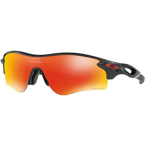 Oakley Men's Radarlock Path (a) Non-Polarized Iridium Rectangular Sunglasses, Matte Black Ink, 0 - Oakley Radarlock Path Sunglasses