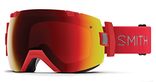 Smith Optics I/Ox - Asian Fit Adult Snow Goggles - Rise/Chromapop Sun Red Mirror