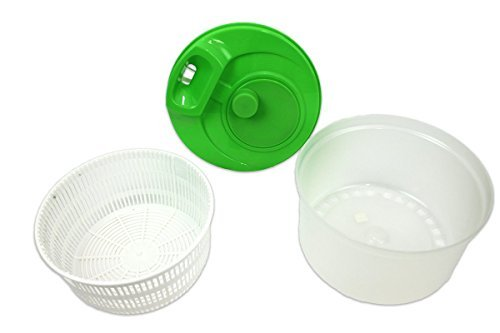 Kitchen Collection Salad Spinner - 08148 Green or White by KITCHEN COLLECTION