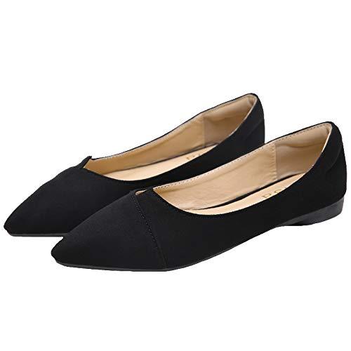 Boca otoño nbsp; Casuales Zapatos Puntiagudos su en y señoras de Trabajo Zapatos Puestos Superficial cómodos nbsp;Moda de Primavera de Plegables nbsp; FLYRCX B Zapatos Bolso U4qB0dOBxw
