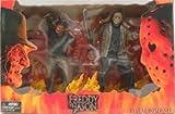 freddy vs jason figure - Freddy Vs Jason Movie Deluxe Box Action Figure Set