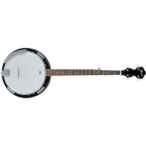 Ibanez B50 5-String Banjo Natural 888365960265 by Ibanez