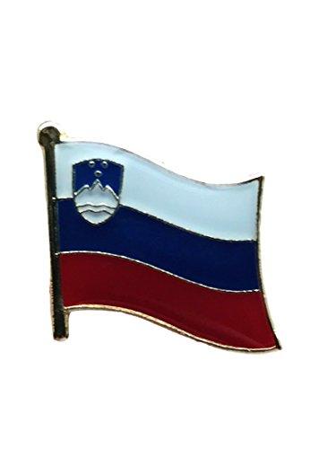- Backwoods Barnaby Slovenian Flag Lapel Pin Tie Tack Clip