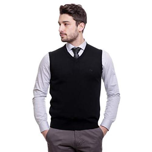 319bKlH1nGL. SS500  - BASE 41 Men's Sleeveless Sweater