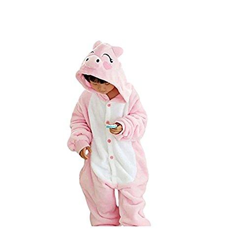 Vivi Cosplay Costume (Vivi Pray Kids Unisex Cosplay Pajamas Onesie Piggy Costume)