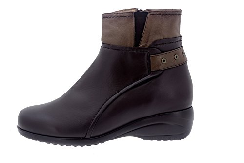 PieSanto Women's 5955 Leather Comfort Boot Extra Wide