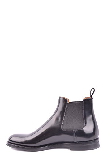 Bottines MCBI069156O Femme Church's Noir Cuir 18cYf