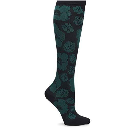 - Nurse Mates Support Compression Socks (Black/Hunter Floral)