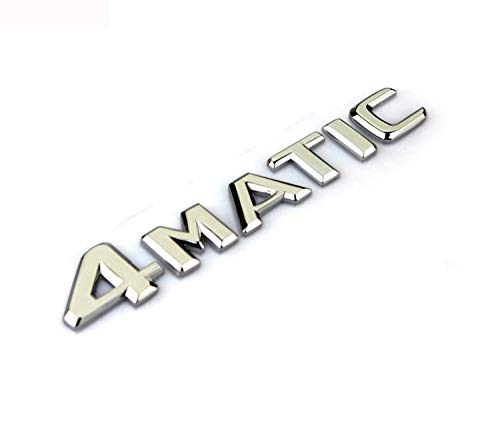 YHD LED for Mercedes Benz 4Matic Car Rear Turnk Emblem Nameplate Decal for AMG E-Class C-Class CLS-Calss A-Class
