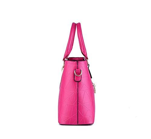 de de roja Mano Moda Bolso Rosa de Bolsa Bolso Gxinyanlong Hombro Gules Mujer de Bolso 4xqIfE06