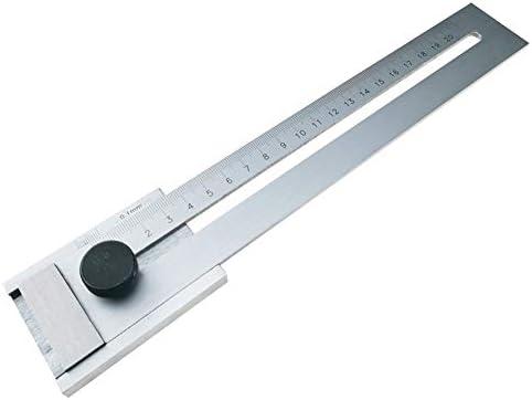工業用等級の高精度のマーカーの定規0-200 / 250 / 300mm, ハードウェアツール (Size : 0-200mm)