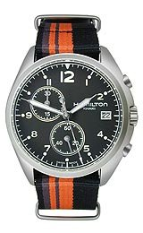 Hamilton Pilot Pioneer Chrono Quartz Men's watch #H76552933