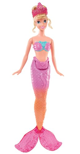 Disney Princess Swimming Mermaid Ariel's Sister Andrian Doll