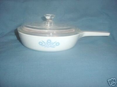 Corning Ware 6-1/2 inch Skillet & Lid