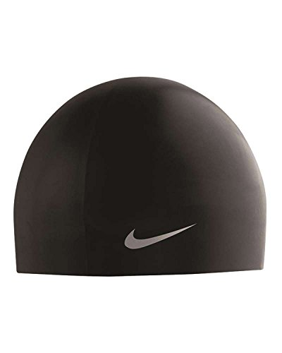 Nike Swim NESS5170 Swift Dome Competition Cap, Black - OS