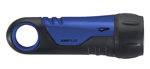 Princeton Tec AMP 1.0 Dive Light (Xenon Bulb, 14 Lumens, Blue) ()