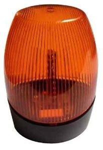 24v Lampe Portail Led Orange Clignotant Strobo 230v Flash Gyrophare Garage 12v mNv0n8Ow