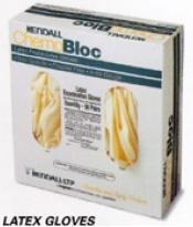 Kendall LTP Chemobloc Latex Powder Free Gloves, Small DP5051G, 1 Case of 300 gloves