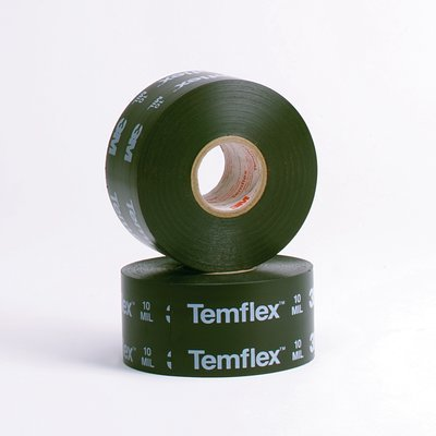 3M(TM) Temflex(TM) Corrosion Protection Tape 1100, Printed, 2 in x 100 ft Plymouth Electrical Tape