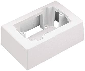 PANDUIT JBX3510IW-A Junction Box,Off White,PVC,Boxes