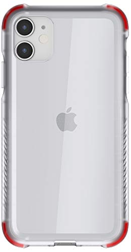 """Ghostek Covert Designed for iPhone 11 Case Clear Silicone Phone Cover (6.1"""" Screen) Protective Slim Fit Thin Shockproof Bumper Wireless Charging Compatible 2019 - Apple iPhone 11 Phone Cases - (Clear)"""