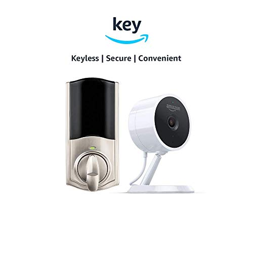 Kwikset Convert Smart Lock Conversion Kit Amazon Cloud Cam Key Smart Lock Kit Nickel