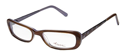 Thalia Women's Abeja Eyeglass Frames Brown