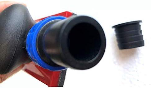 乾式研磨機特別手動研磨プレート手投げプレート手押しプレート掃除機研磨ヘッド-赤黒