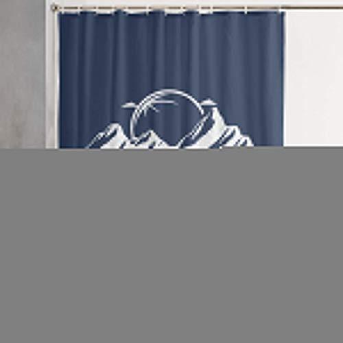 FOECBIR This is My Roadtrip Shirt Shower Curtain with Hooks Waterproof Fabric Bathroom Decor