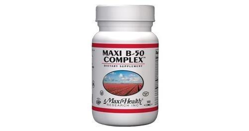 B-complex Vitamins Maxi (Maxi B-Complex 50 100 Capsules)
