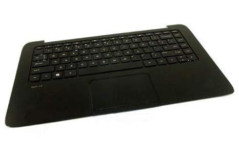 HP 732298-071 Carcasa con Teclado Refacción para Notebook - Componente para Ordenador Portátil (