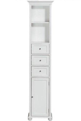 Hampton Bay 15w Standard Linen Storage Cabinet, 15W, WHITE By Home  Decorators Collection