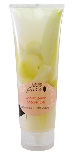 Vanilla Bean Shower Gel by 100% Pure, 8 oz