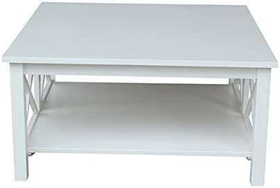 International Concepts Square Coffee Table