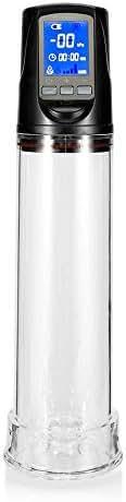 LED Liquid Crystal Display Male Pleasure Pro P-ùmp Assist P`ênís Erêctión Vacuum Enlárgêment Dèvíce P`ênís Enlárgèr P-ùmp P`ênís Ring for Men Discreet Packaging psbibra
