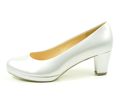 Gabor 61-260-96 Womens Court Shoes Silver XwgSOR4cOW