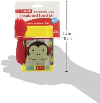 Zoo Abeille Skip Hop Pot alimentaire isotherme