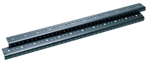 Additional Threaded Rackrail for DWR Sectional Wall Mount Rack Rack Spaces: 12U Spaces