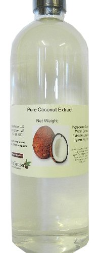 Price comparison product image Pure Coconut Extract 32 oz,  32 Ounce