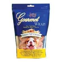 (Dog Supplies Gourmet Wraps Banana And Chicken)