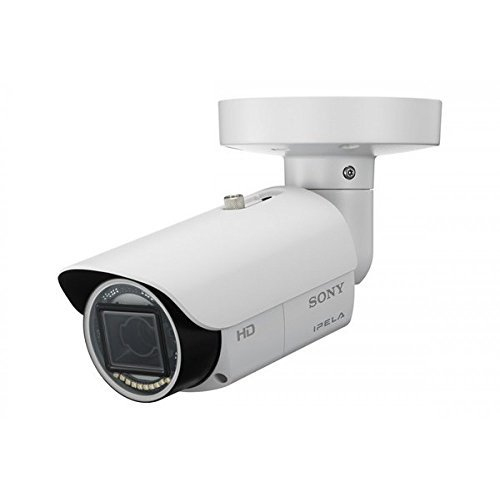 HD Network fixed (1280x1024) outdoor IR bullet 720p/30fps camera, IPELA ENGINE™ EX, View-DR® technology (130dB), Image Stabilizer, IP66, Visibility Enhancer, xDNR, True D/N, Easy Zoom, Easy Focus and PoE. (Sony Bullet Camera)