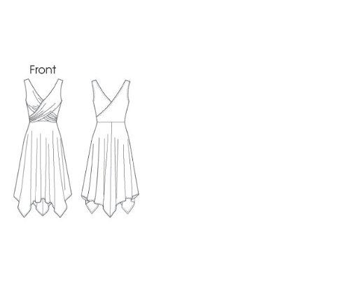 Jeune femme : robe - 6 - 8 - 10-12 - 14 de modèle