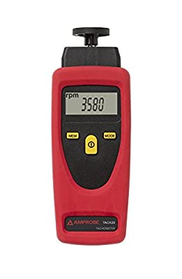 Amprobe Contact and Non-Contact Tachometer