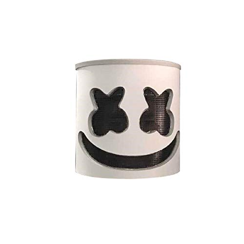 DJ Mask Party LED Mask Marshmello Helmet Cosplay Costume Halloween&Christmas Party Props Bar DJ Mask (7)